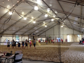 Volleyball Tent