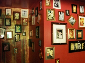 Wall of nudes. Photo by Nastassia Putz.
