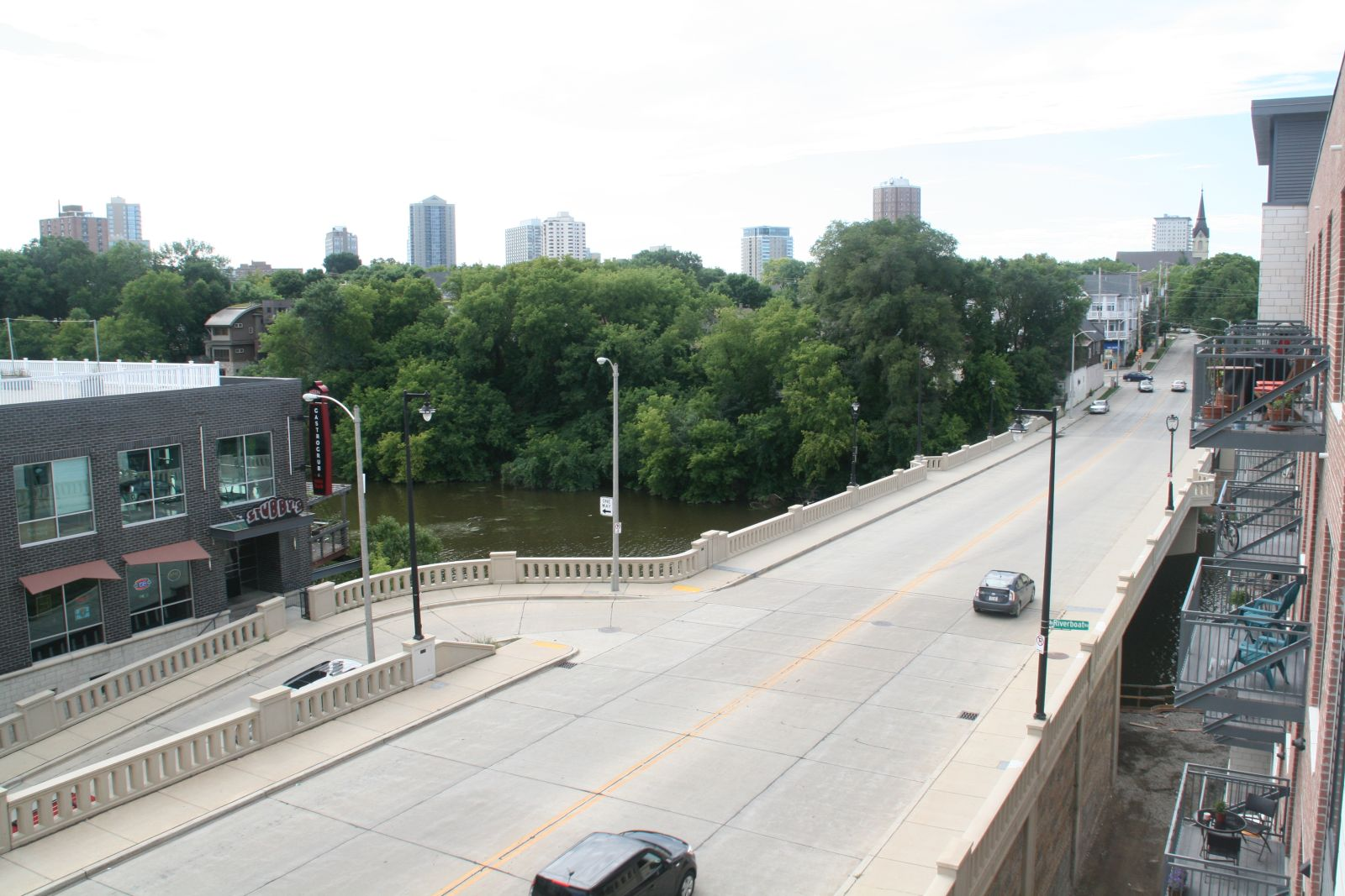 View from Walker\'s Landing East Side