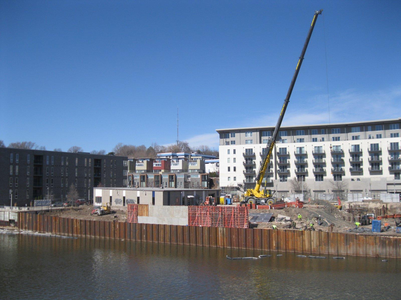 Walker\'s Landing is under construction.