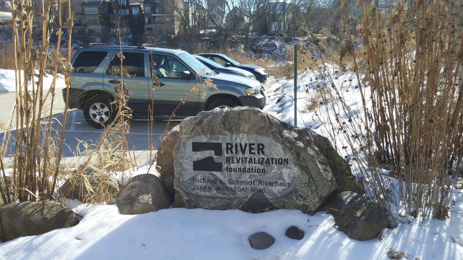 River Revitalization Foundation marker
