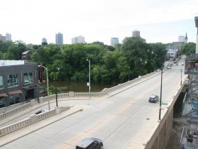 View from Walker's Landing East Side