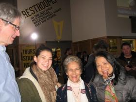 Russ Klisch, Jacqueline Klisch, Julilly Kohler and May Klisch