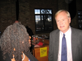 Gwen Moore and Chris Matthews