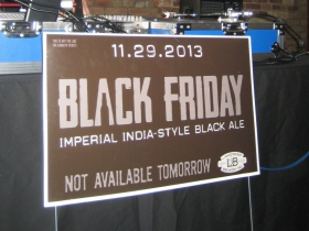 Black Friday: Imperial India-style Black Ale. Photo by Michael Horne.