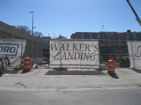 Walker's Landing is under construction.