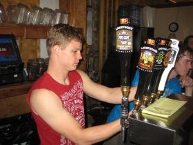 Lakefront beers.