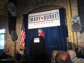 Mary Burke.