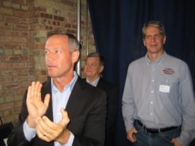 Martin O'Malley and Russ Klisch.
