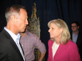 Martin O'Malley and Mary Burke.