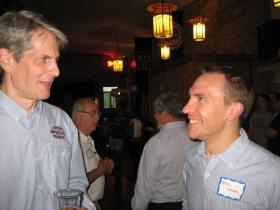 Russ Klisch and State Sen. Chris Larson.