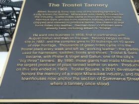 Trostel Tannery marker