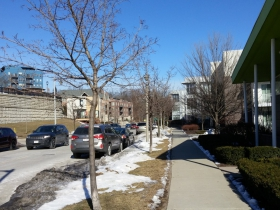 View of N. Commerce Street