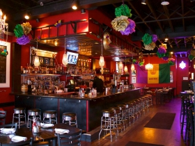 Mardi Gras bar