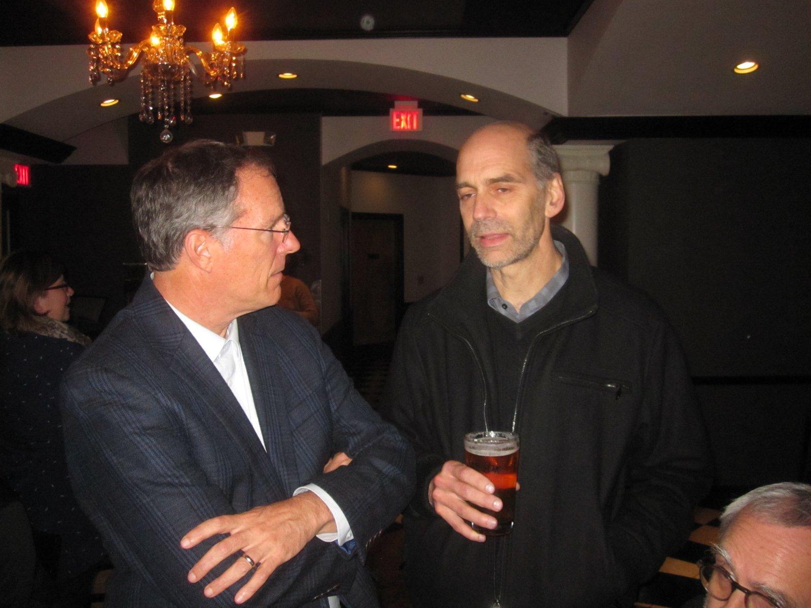 Jon Richards and Russ Drewry