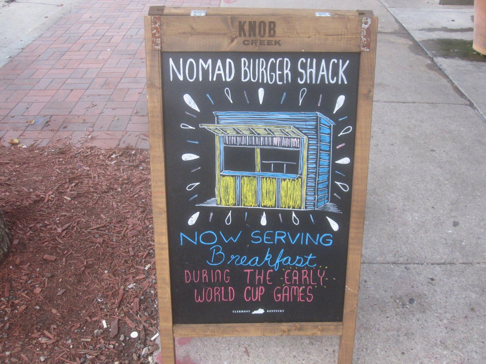 Nomad Burger Shack