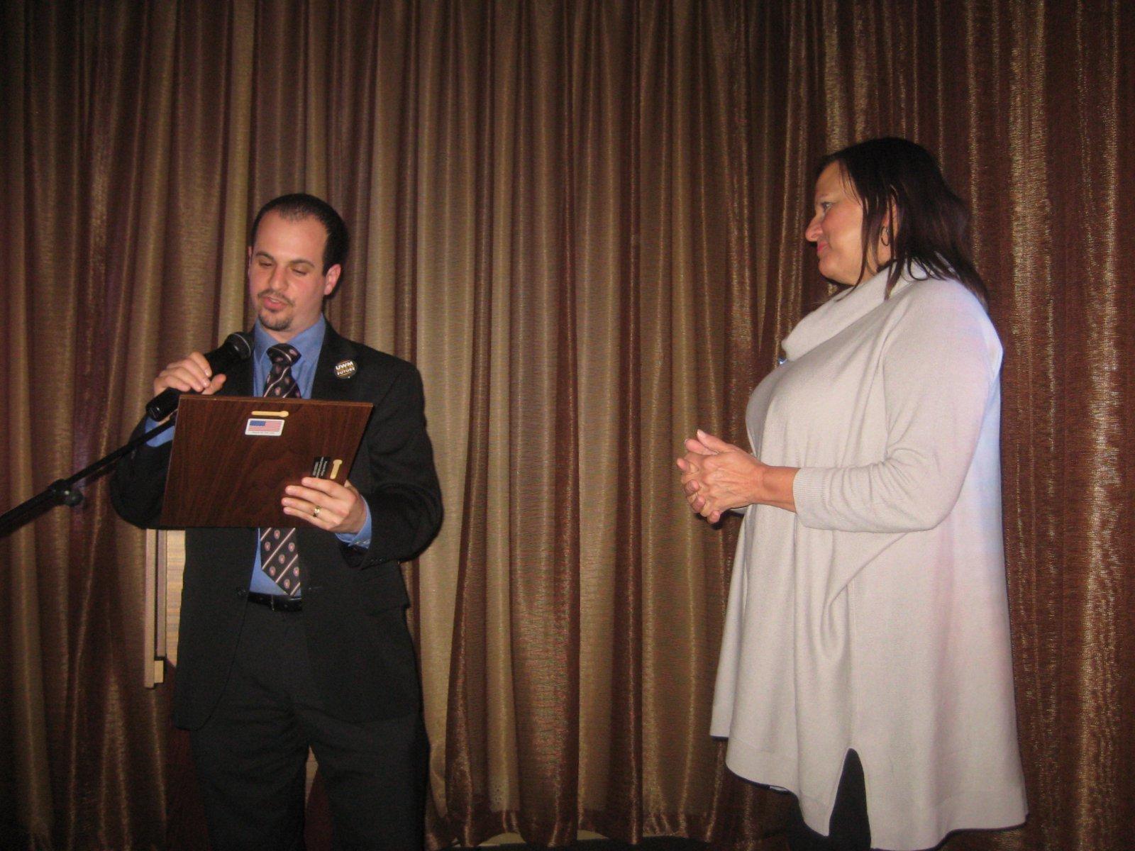 Jonathan Brostoff and Patti Keating Kahn