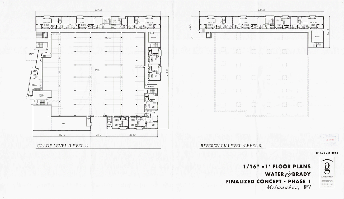 1701 N. Water St. Site Plan