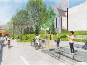 Brady Street Lift Station Rendering