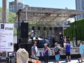 The Great Lakes Distillery Stage presented by 88Nine Radio Milwaukee