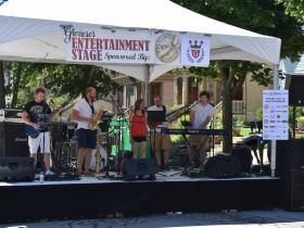 Glorioso's Italian Market Entertainment Stage