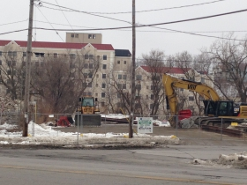 The building at 1701 N. Water St. has been demolished.