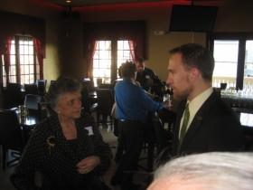 Shirley Abrahamson and Chris Larson