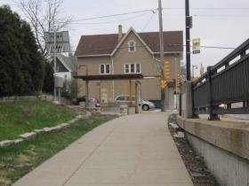 Path to Brady Street