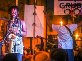 Jay Anderson at Brady Street Festival