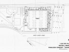 1701 N. Water St. Site Plan