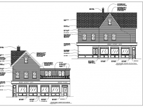 Proposed Elevation, 707 E. Brady St.