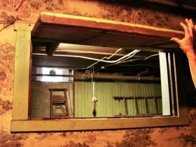 Opening the secret window.