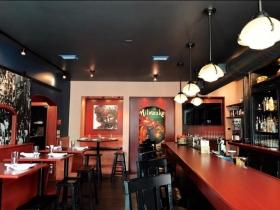 The Diplomat bar area