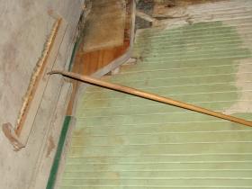 Vintage pin sweeper.