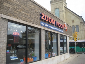 Zoom Room, 1701 N. Humboldt Ave. Photo by Michael Horne.