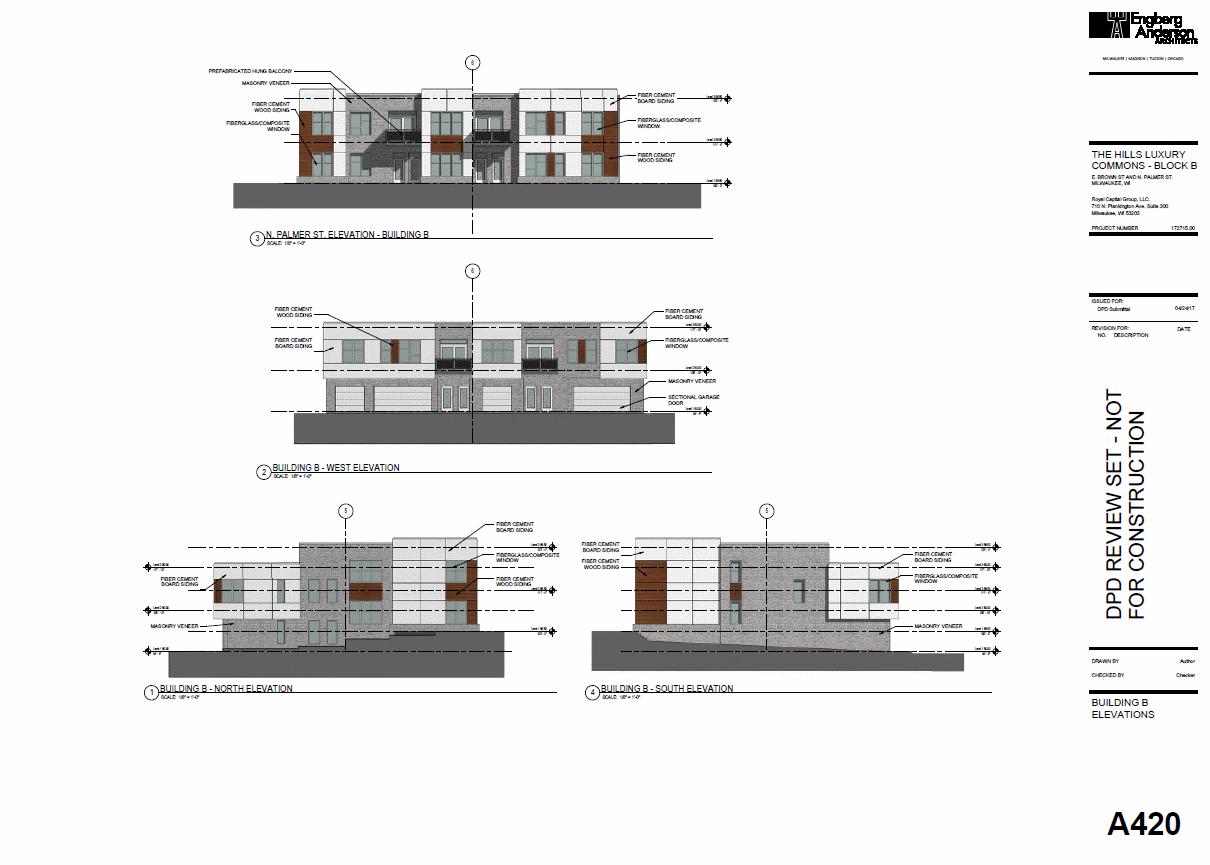 Building B Elevation