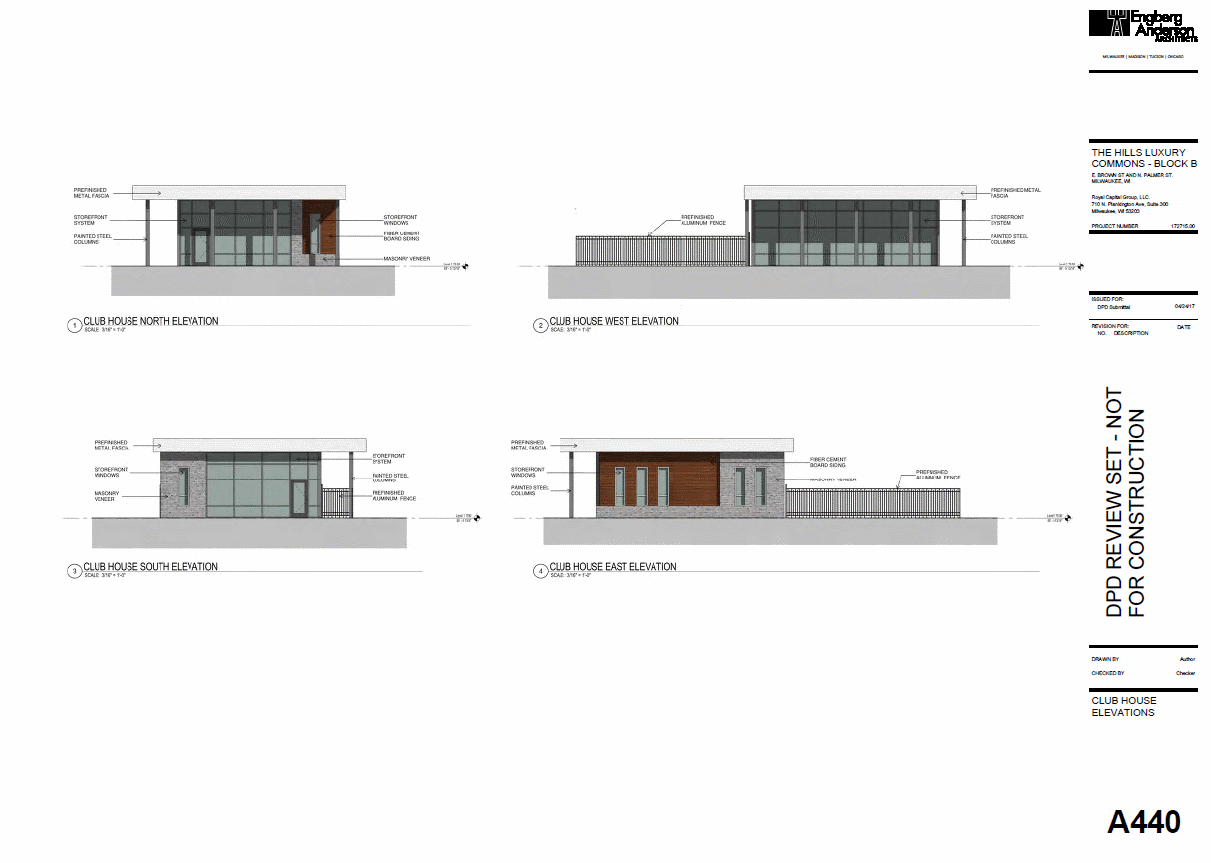 Club House Elevation