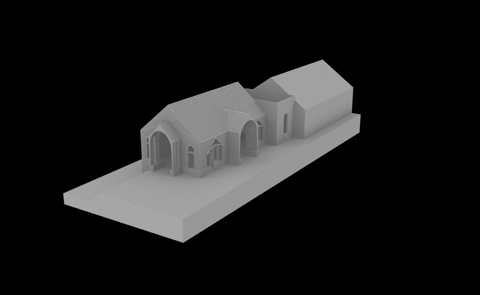 Sanger House Conceptual Rendering