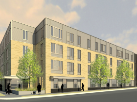 Rendering of Ingram Place Apartments