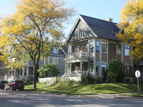 Reservoir Avenue homes