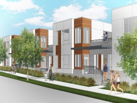 The Hills Townhomes Rendering