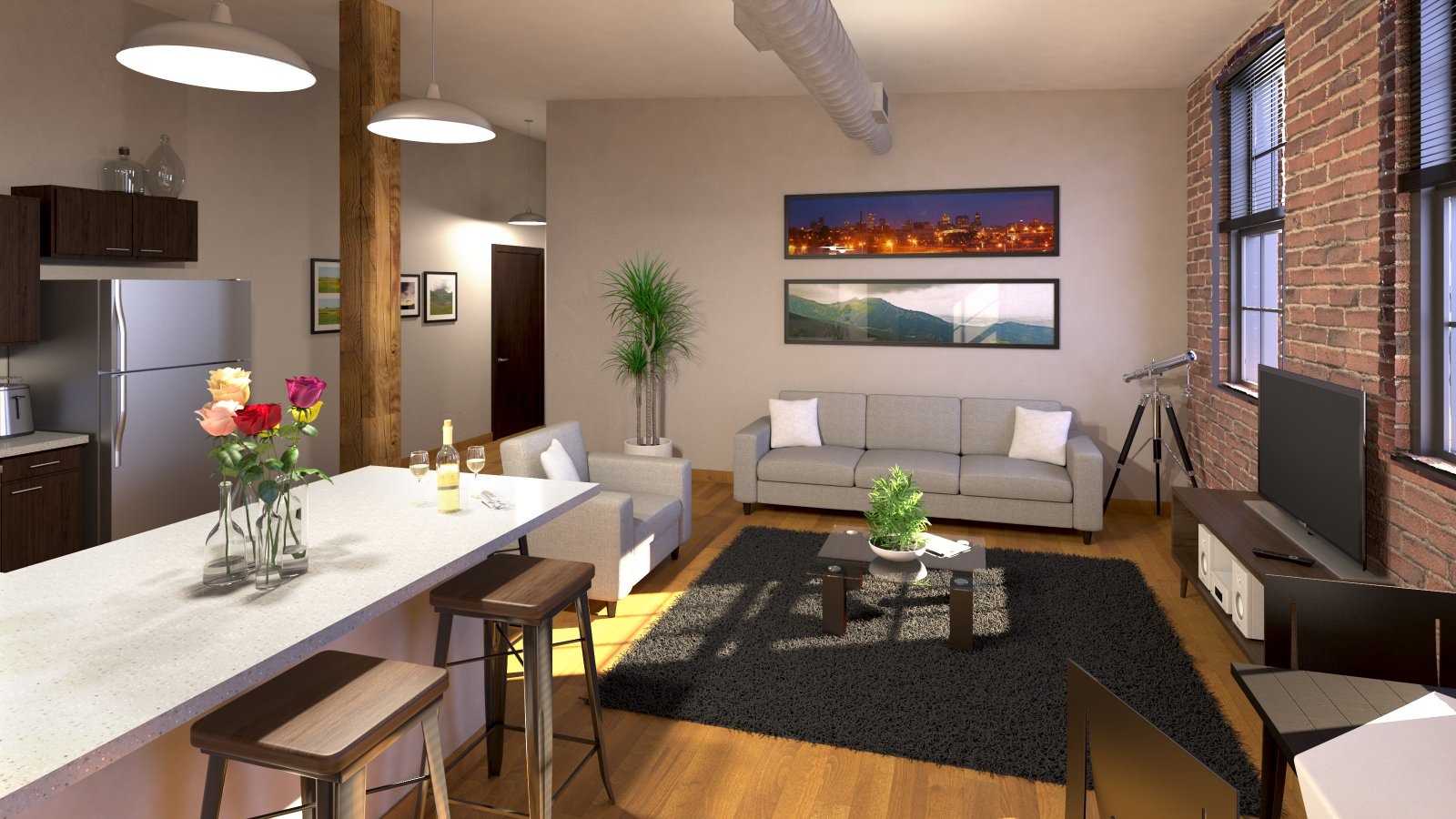 The Fortress Apartments Rendering
