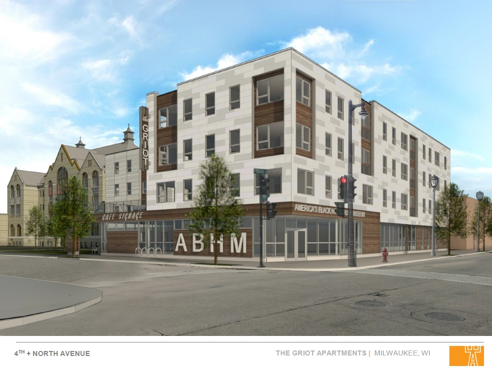 Griot Apartments - 4th Street and North Avenue View
