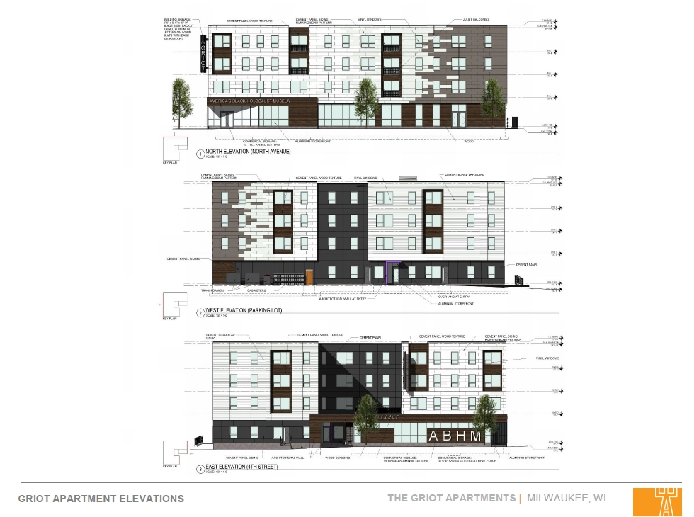 Griot Apartments Elevations