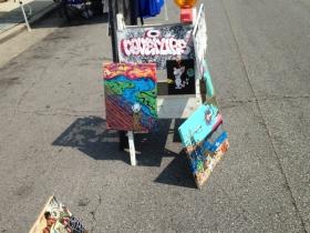 Art on the street.