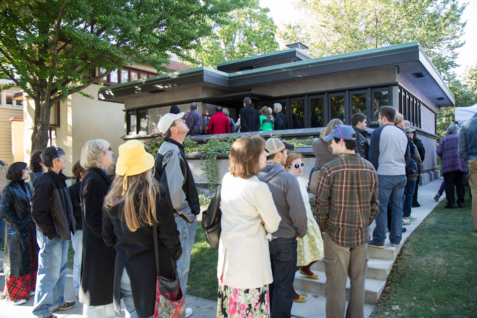 Doors Open Milwaukee - American System-Built Homes by Frank Lloyd Wright