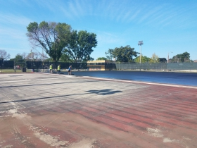 Burnham Park Futsal Courts Transformation