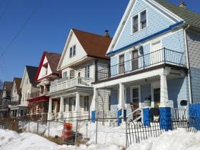 Homes on W. Burnham Street