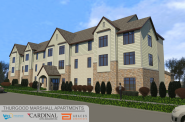 Thurgood Marshall Apartments Rendering
