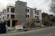 1601 N Jackson St. Under Construction.